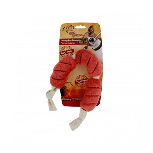 All For Paws Scrumptious Sausages Large Dog Toy - Kohepets