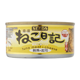 23% OFF: Seeds Miao Miao Tuna & Cheese Canned Cat Food 170g (Exp Jul 19)