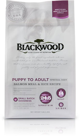 Blackwood Sensitive Skin & Stomach Salmon Meal & Rice Dry Dog Food - Kohepets