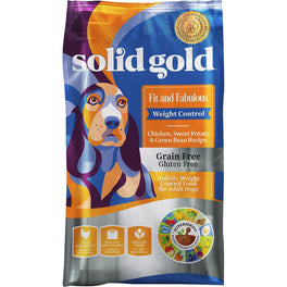 Solid Gold Fit & Fabulous Weight Control Chicken, Sweet Potato & Green Bean Dry Dog Food
