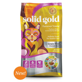 Solid Gold Furrever Young Grain-Free Senior Dry Cat Food 6lb