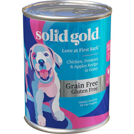 Solid Gold Love At First Bark Chicken, Potatoes & Apples Grain Free Puppy Canned Dog Food 13.2oz