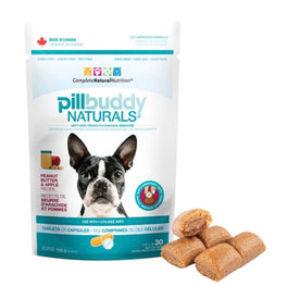 Pill Buddy Naturals Peanut Butter & Apple Dog Treat 5.29oz