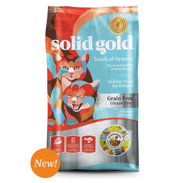 Solid Gold Touch of Heaven Chicken & Sweet Potato Kitten Formula Grain-Free Dry Cat Food 6lb