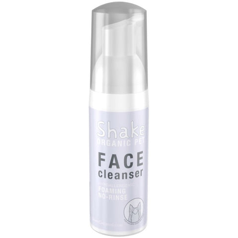 Shake Organic Face Cleanser For Dogs & Cats 1.8oz - Kohepets