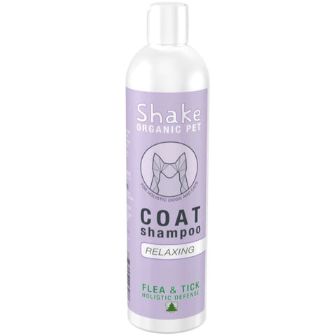 Shake Organic Relaxing Coat Shampoo For Dogs & Cats 8.5oz