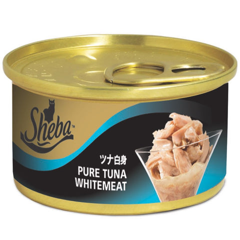 Sheba Tuna Fillet In Jelly Canned Cat Food 85g - Kohepets