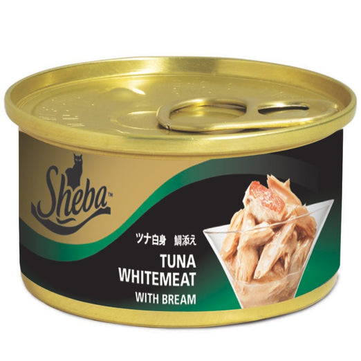 Sheba Tuna With Bream In Jelly Canned Cat Food 85g - Kohepets