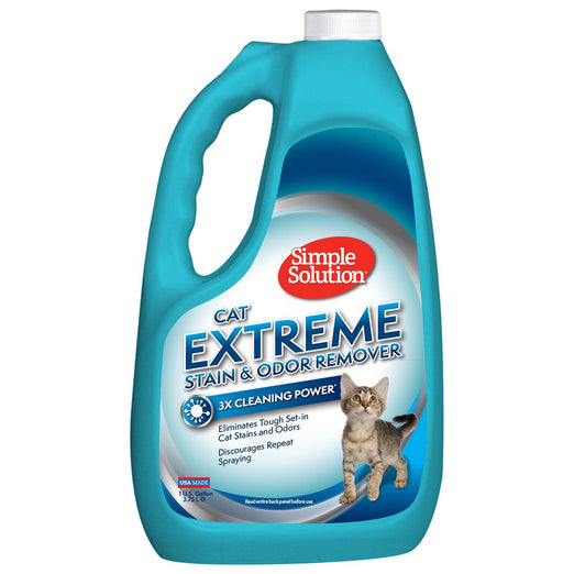 33% OFF: Simple Solution Extreme Stain & Odor Remover For Cats 3.75L - Kohepets
