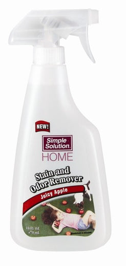 Simple Solution Home Stain and Odor Remover Juicy Apple Spray 16oz - Kohepets