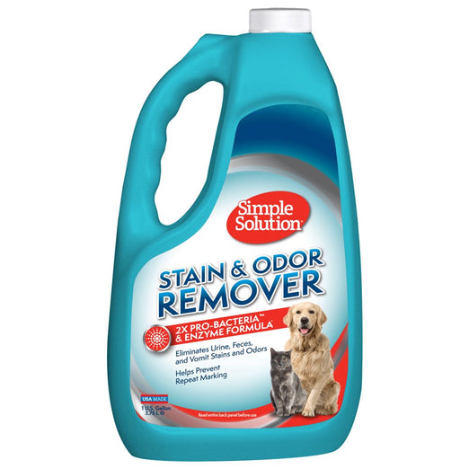 33% OFF: Simple Solution Stain & Odor Remover For Cats and Dogs 3.75L - Kohepets