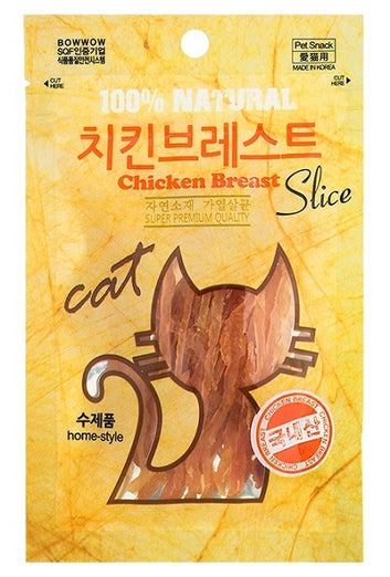 Bow Wow Chicken Breast Slice Cat Treat 30g