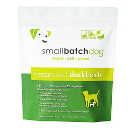 30% OFF: Smallbatch Duck Batch Sliders Freeze Dried Dog Food 14oz