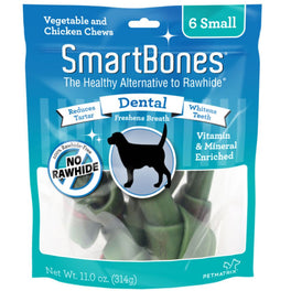 SmartBones Rawhide-Free Dental Dog Chews