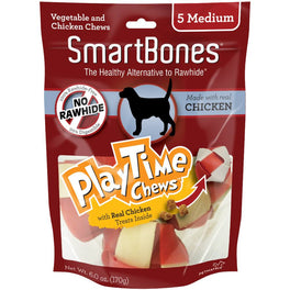 SmartBones PlayTime Chicken Dog Chews
