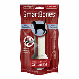 SmartBones Rawhide-free Chicken Dog Chew (1pc)