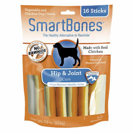 SmartBones SmartSticks Hip & Joint Care Dog Chews 16pc