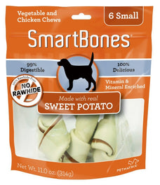 SmartBones Rawhide-free Sweet Potato Dog Chews