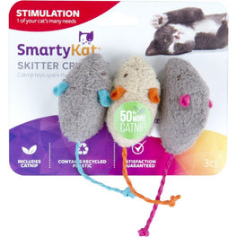 10% OFF: SmartyKat Skitter Critters Catnip Mouse Cat Toy