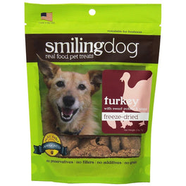 Smiling Dog Turkey, Sweet Potato & Ginger Freeze-Dried Dog Treats 70g