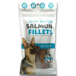 Snack 21 Wild Pacific Salmon Fillets Dog Treats 65g