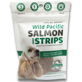 10% OFF: Snack 21 Wild Pacific Salmon Jerky Strips Dog Treats 25g (Exp Jun 19)