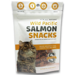 Snack 21 Wild Pacific Salmon Snacks Cat Treats 25g