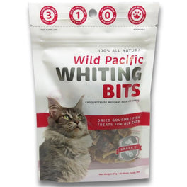 Snack 21 Wild Pacific Whiting Bits Cat Treats 25g