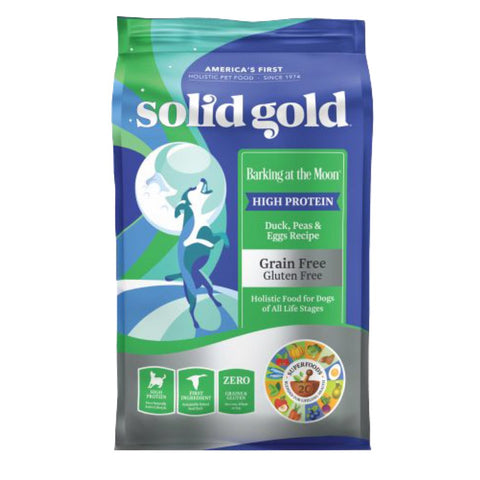 '40% OFF' (Exp Aug 20): Solid Gold Barking At The Moon Duck, Peas & Eggs Grain Free Dry Dog Food