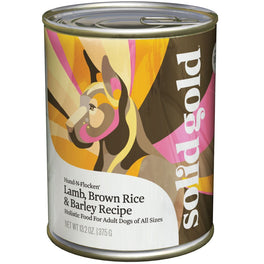 Solid Gold Hund-N-Flocken Lamb, Brown Rice, Carrots & Barley Canned Dog Food 374g