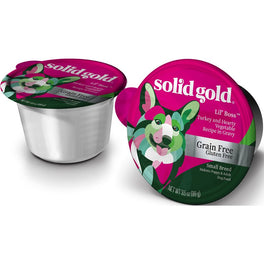 Solid Gold Lil' Boss Turkey & Vegetable Cup Tray Dog Food 99g