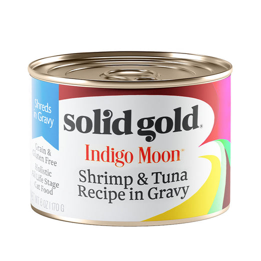 Solid Gold Indigo Moon Shrimp & Tuna In Gravy Canned Cat Food 170g - Kohepets