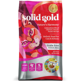 Solid Gold Nature's Harmony Grain & Gluten Free Dry Cat Food