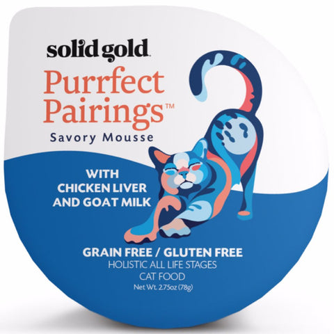 Solid Gold Purrfect Pairings With Chicken Liver & Goat Milk Cup Cat Food 78g - Kohepets