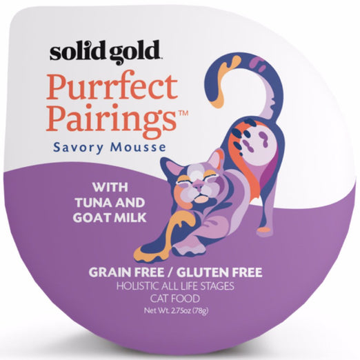 Solid Gold Purrfect Pairings With Tuna & Goat Milk Cup Cat Food 78g - Kohepets