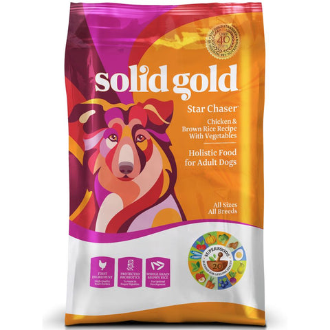Solid Gold Star Chaser Dry Dog Food - Kohepets