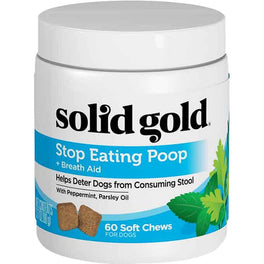 Solid Gold Stop Eating Poop Grain-free Nutritional Supplement Dog Chews 60ct