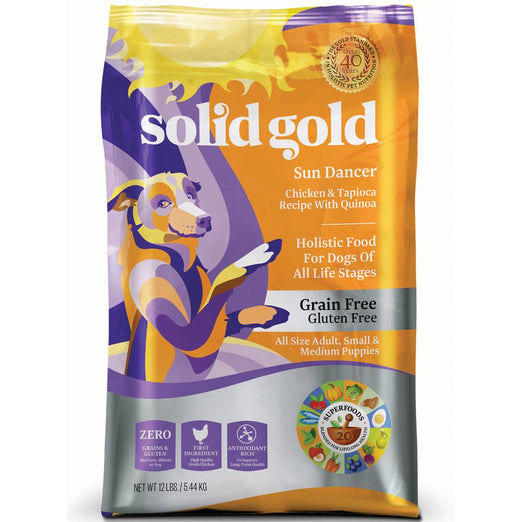 Solid Gold Sun Dancer Grain & Gluten Free Dry Dog Food - Kohepets