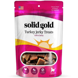Solid Gold Turkey Jerky Dog Treats 10oz