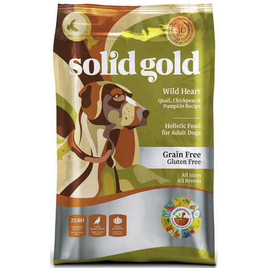 Solid Gold Wild Heart Grain & Gluten Free Dry Dog Food - Kohepets