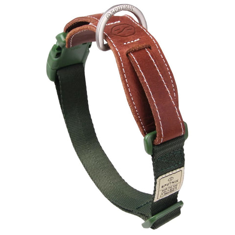 Sputnik Nylon Dog Collar (Green) - Kohepets