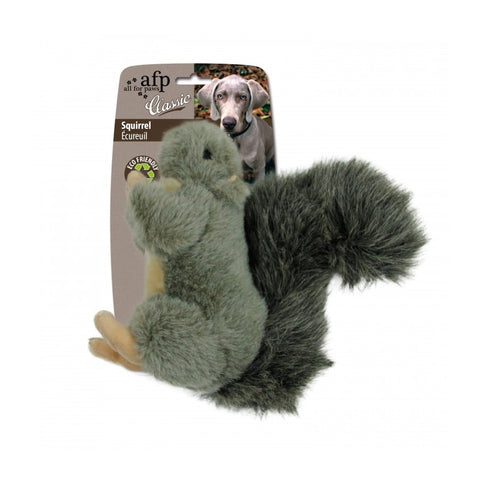 All For Paws Classic Large Squirrel Dog Toy - Kohepets