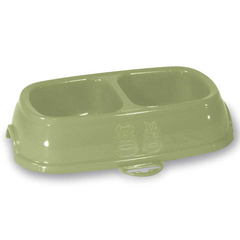 Stefanplast Break 13 Double Bowl for Dogs & Cats