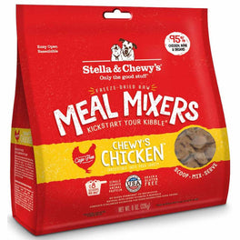 BUNDLE DEAL + FREE TREATS: Stella & Chewy's Chewy's Chicken Meal Mixers Freeze-Dried Dog Food