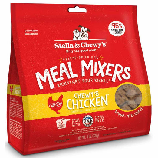 Stella & Chewy's Chewy's Chicken Meal Mixers Freeze-Dried Dog Food - Kohepets