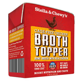 Stella & Chewy's Broth Topper Cage-Free Chicken Dog Food 11oz