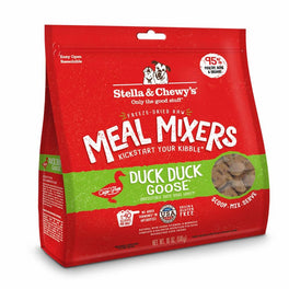 Stella & Chewy's Duck Duck Goose Meal Mixers Freeze-Dried Dog Food 18oz