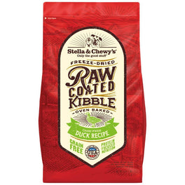 15% OFF + FREE TREATS: Stella & Chewy's Freeze-Dried Raw Coated Kibble Duck Dry Dog Food