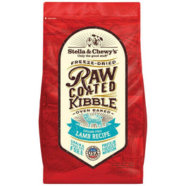 15% OFF + FREE TREATS: Stella & Chewy's Freeze-Dried Raw Coated Kibble Lamb Dry Dog Food