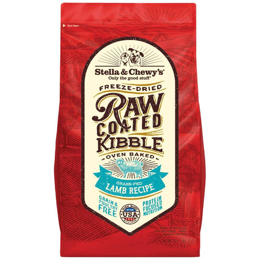 'FREE SOUP + 15% OFF': Stella & Chewy's Freeze-Dried Raw Coated Kibble Lamb Dry Dog Food